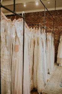 wedding dresses in store